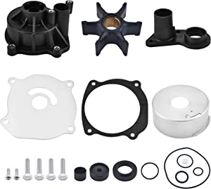 BDFHYK Water Pump Repair Kit Replacement with Housing for Johnson Evinrude V4 V6 V8 90-235HP,Outboard Motor Parts 5001594, Sierra 18-3392