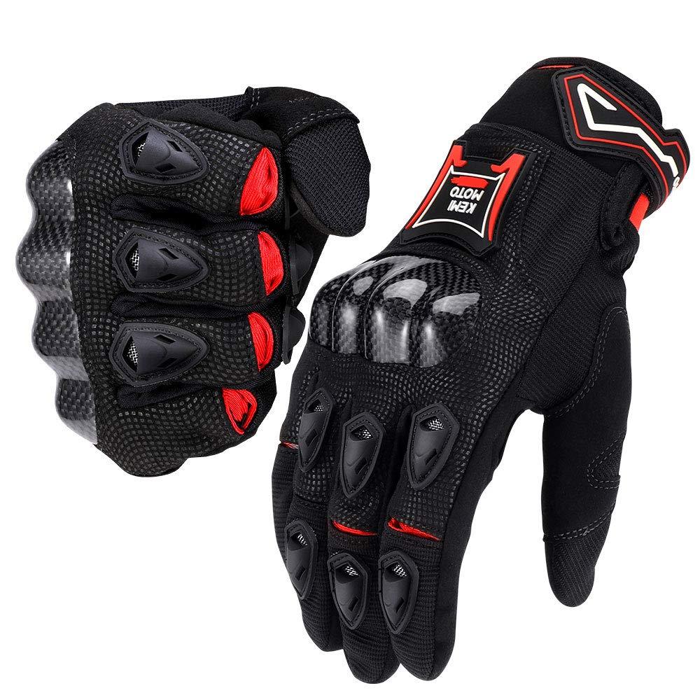 Kemimoto Breathable Carbon Fiber Gloves}
