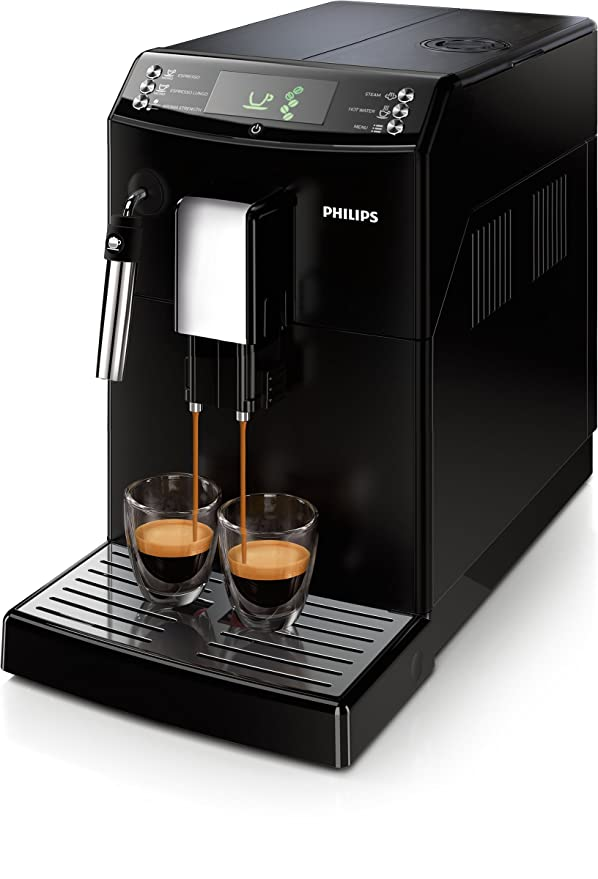 Philips Serie 3100 Cafetera Express Hd8831/01, 1850 W, 1.8 litros, 1.8, plástico, negro