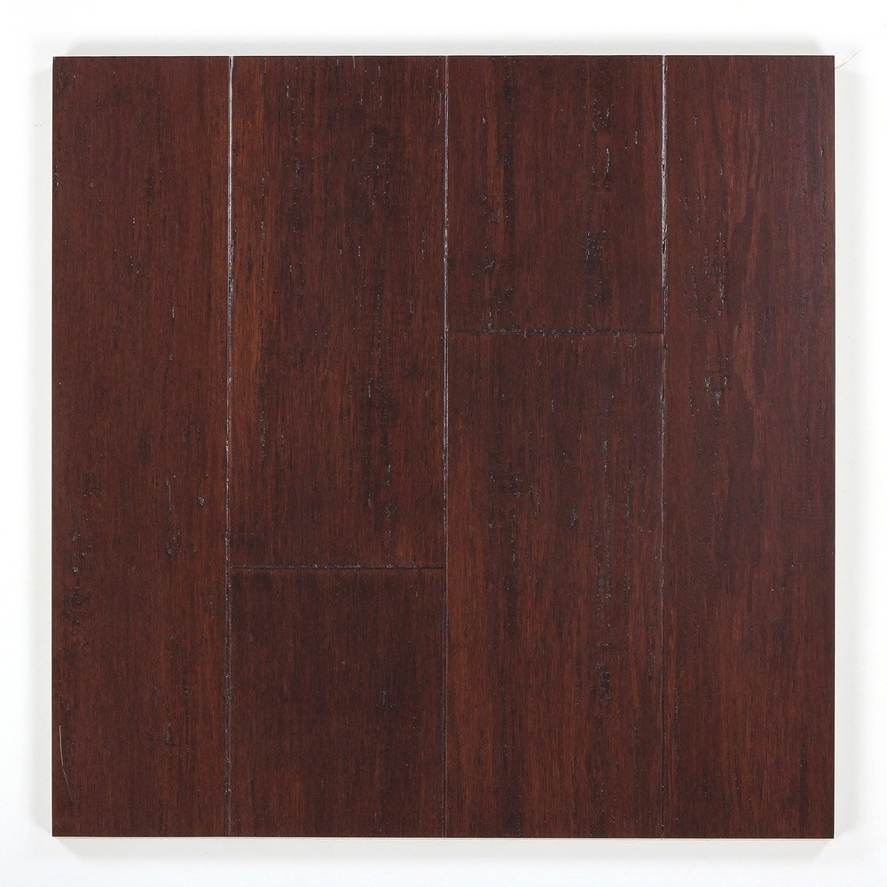 Strandwoven Flintlock 1/2 in. x 5 x 72-3/4 in. Length Tongue & Groove Engineered Bamboo Flooring (19.92 sq. ft./case)