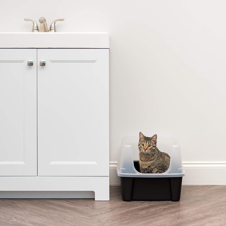 IRIS Abierto Parte Superior de Basura Caja de Gato con ...