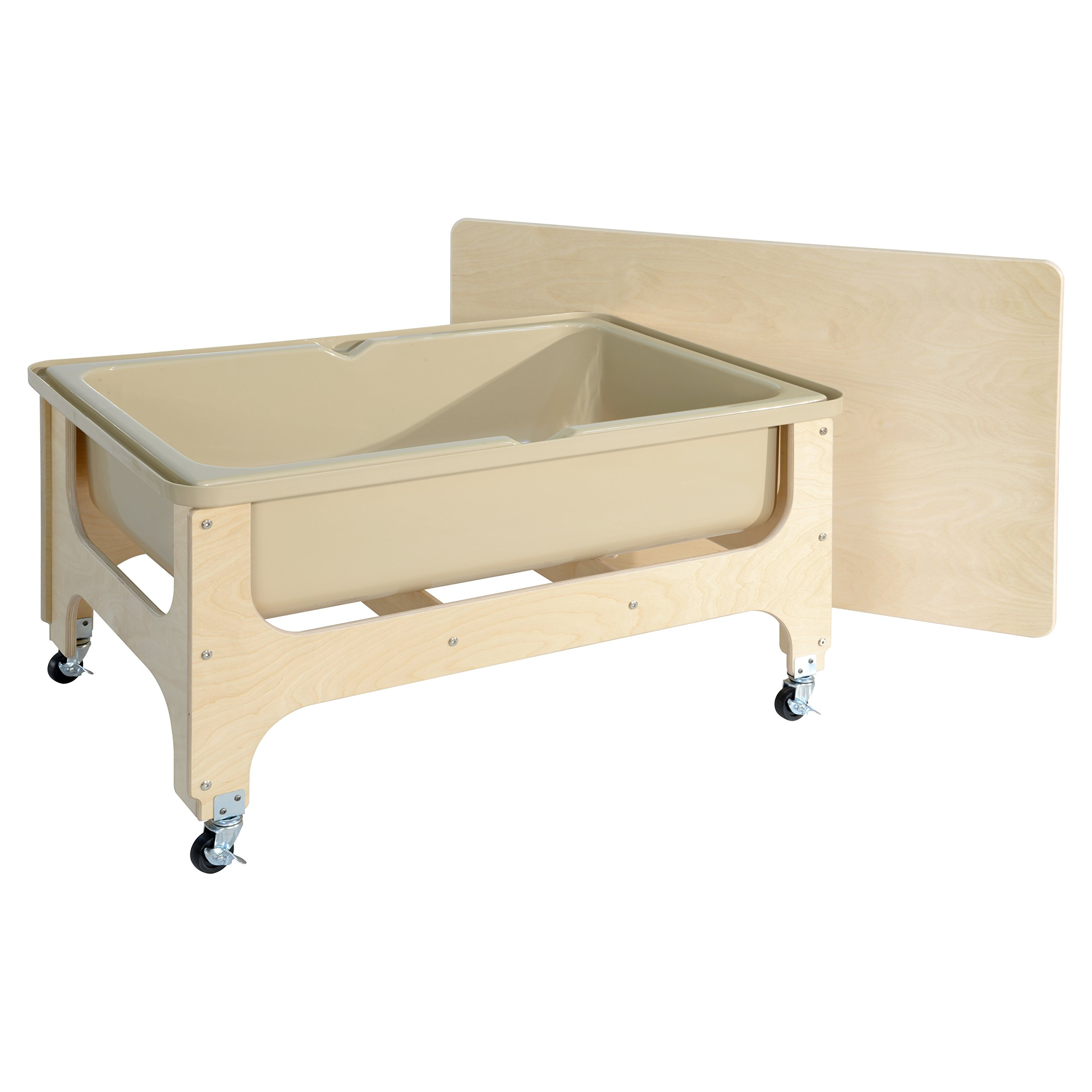Wood Designs WD11875 - Tot Size Sand & Water Table with Lid by Wood Designs