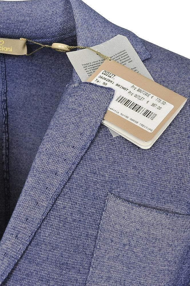 Cruciani Chaqueta Hombre Azul Solo Blazer Azul 50 Slim Fit: Amazon.es: Ropa y accesorios