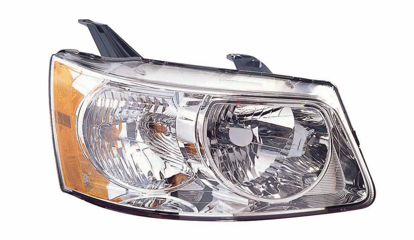 Depo 336-1119R-AS Pontiac Torrent Passenger Side Composite Headlamp Assembly with Bulb and Socket
