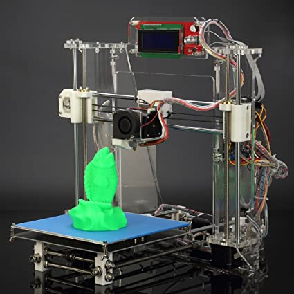 Andoer® upgrade Aurora Reprap Prusa i3 3d impresora máquina DIY ...