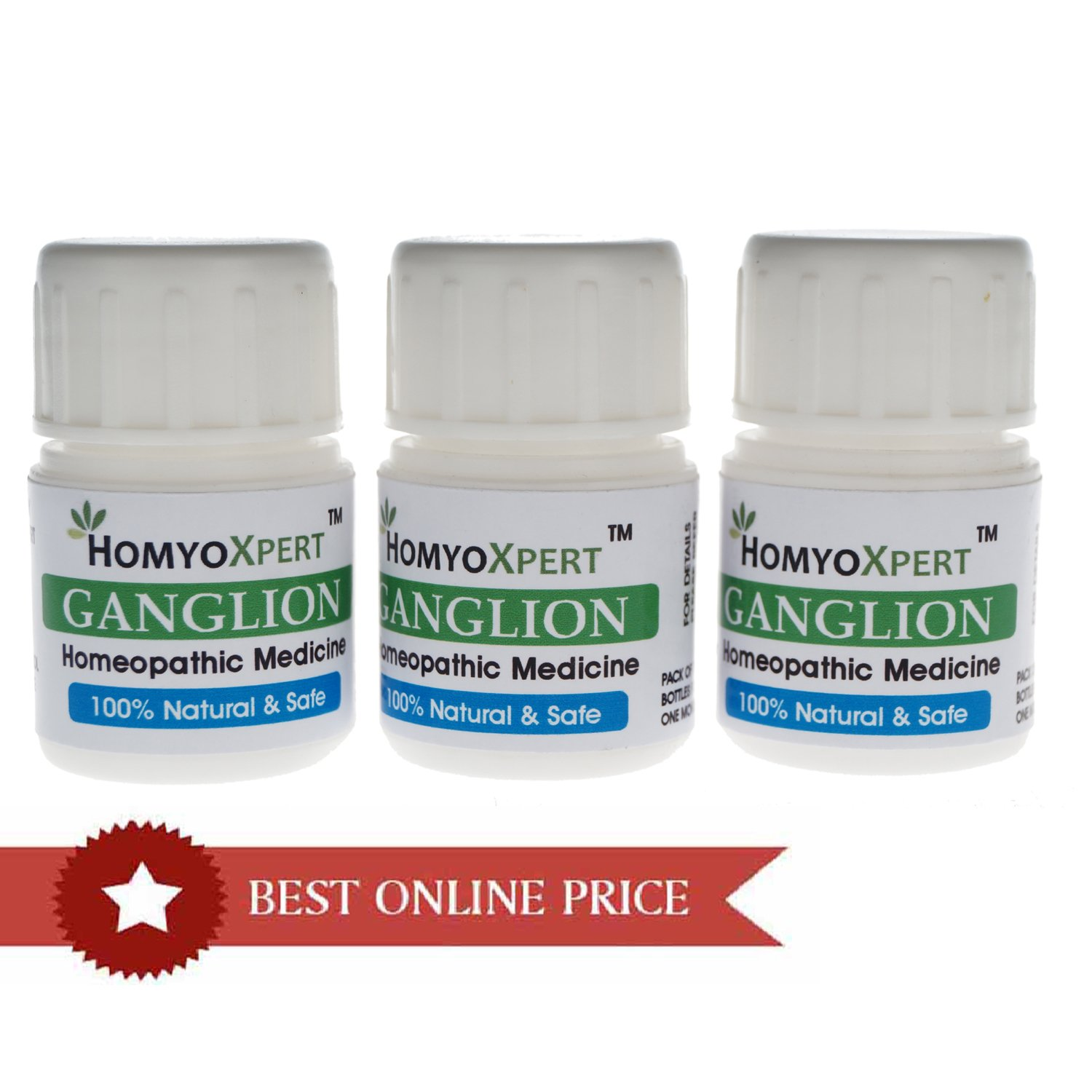 HomyoXpert Ganglion Homeopathic Medicine For One Month by HomyoXpert