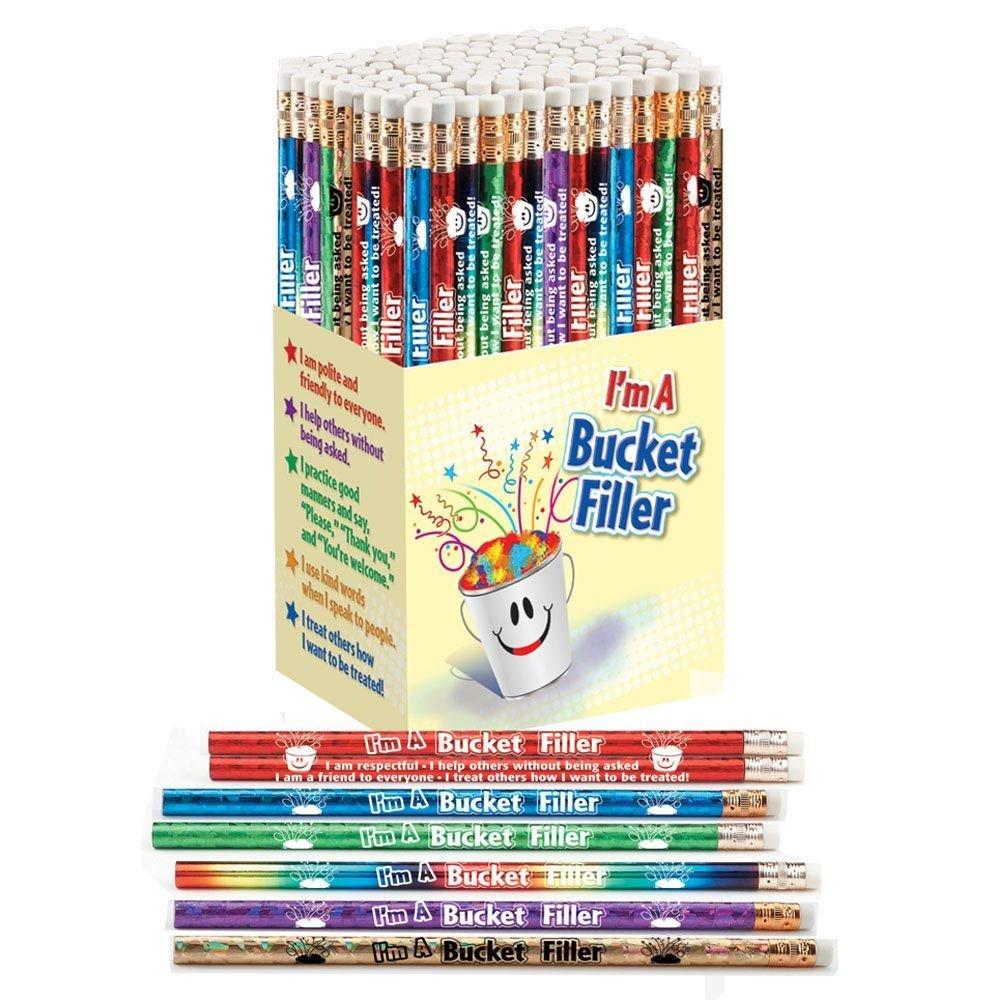 Bucket Filler Award Pencils 150-Piece Assortment