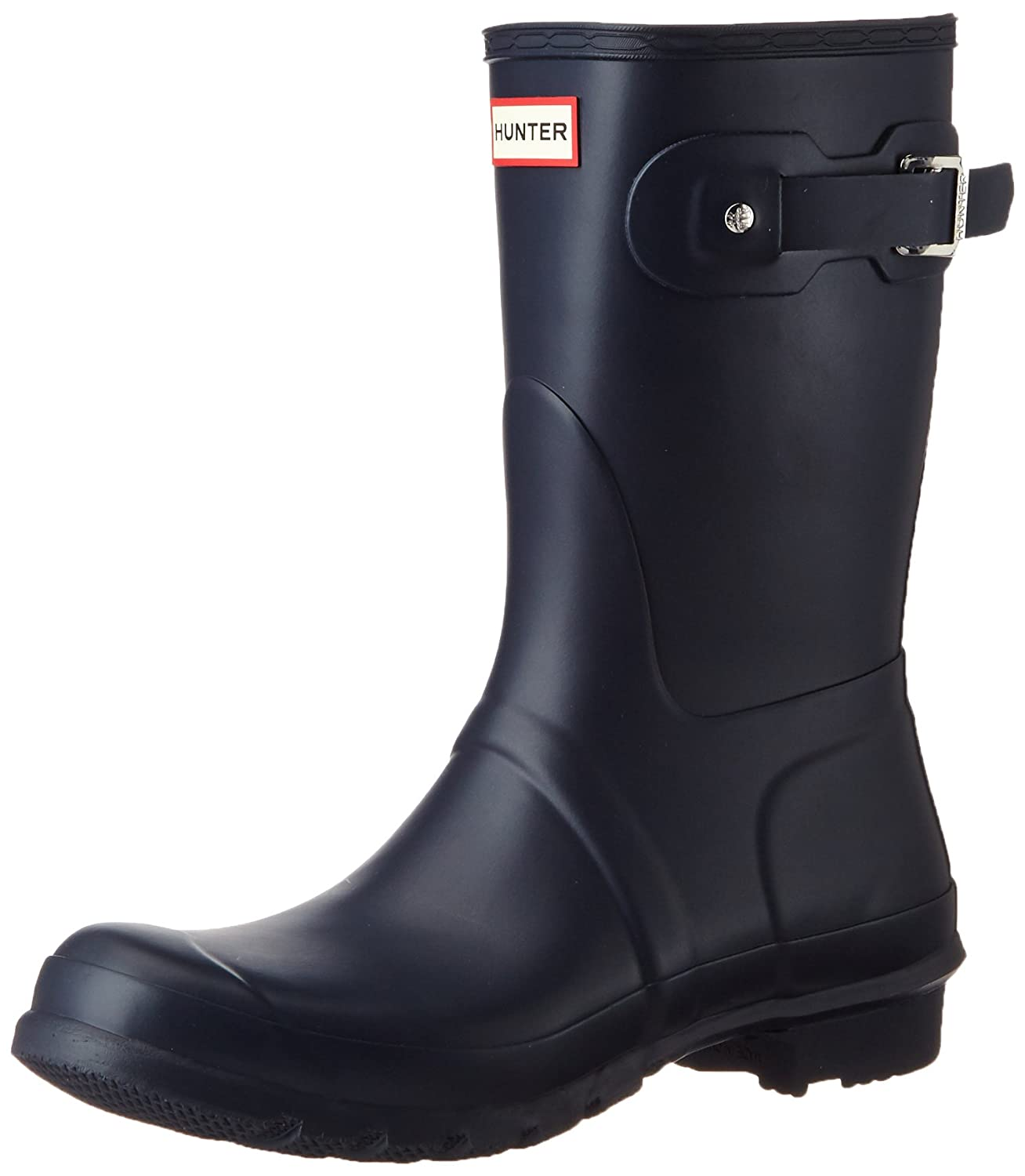 Hunter Women's Original Short Rain Boot B00K1WBL9G 11 B(M) US|Navy Matte