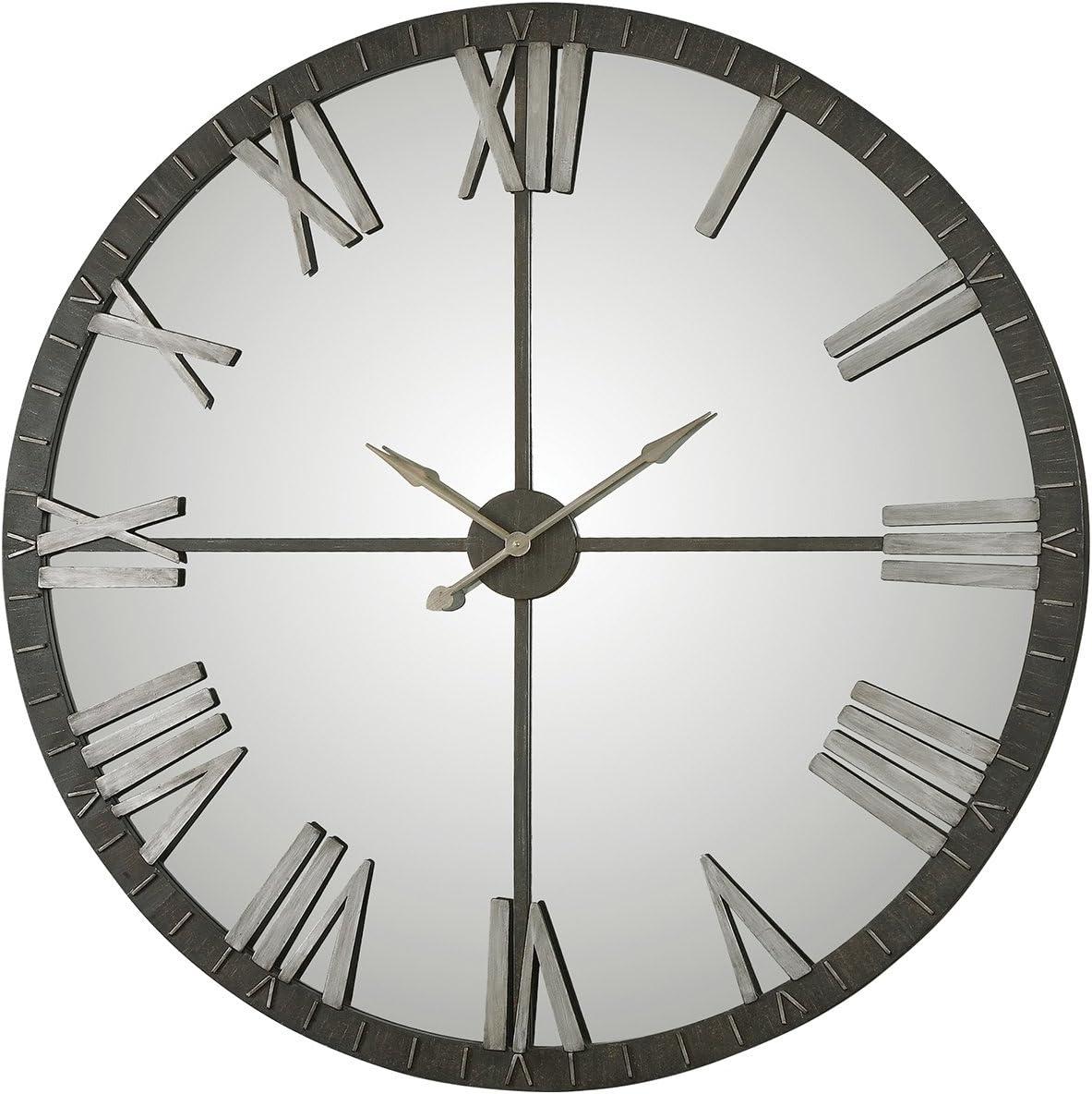 Uttermost 06419 Amelie Bronze Wall Clock, Large