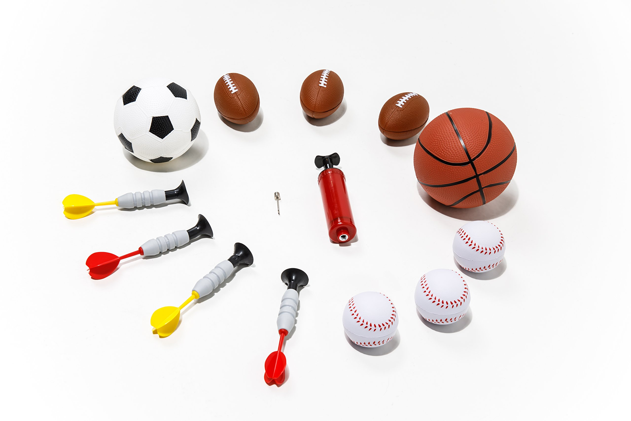 Sport Squad 5-in-1 Multi-Sport Kid's Game Set – Features Baseball, Basketball, Football, Soccer, Darts – Great for Indoor and Outdoor Play by Sport Squad (Image #4)