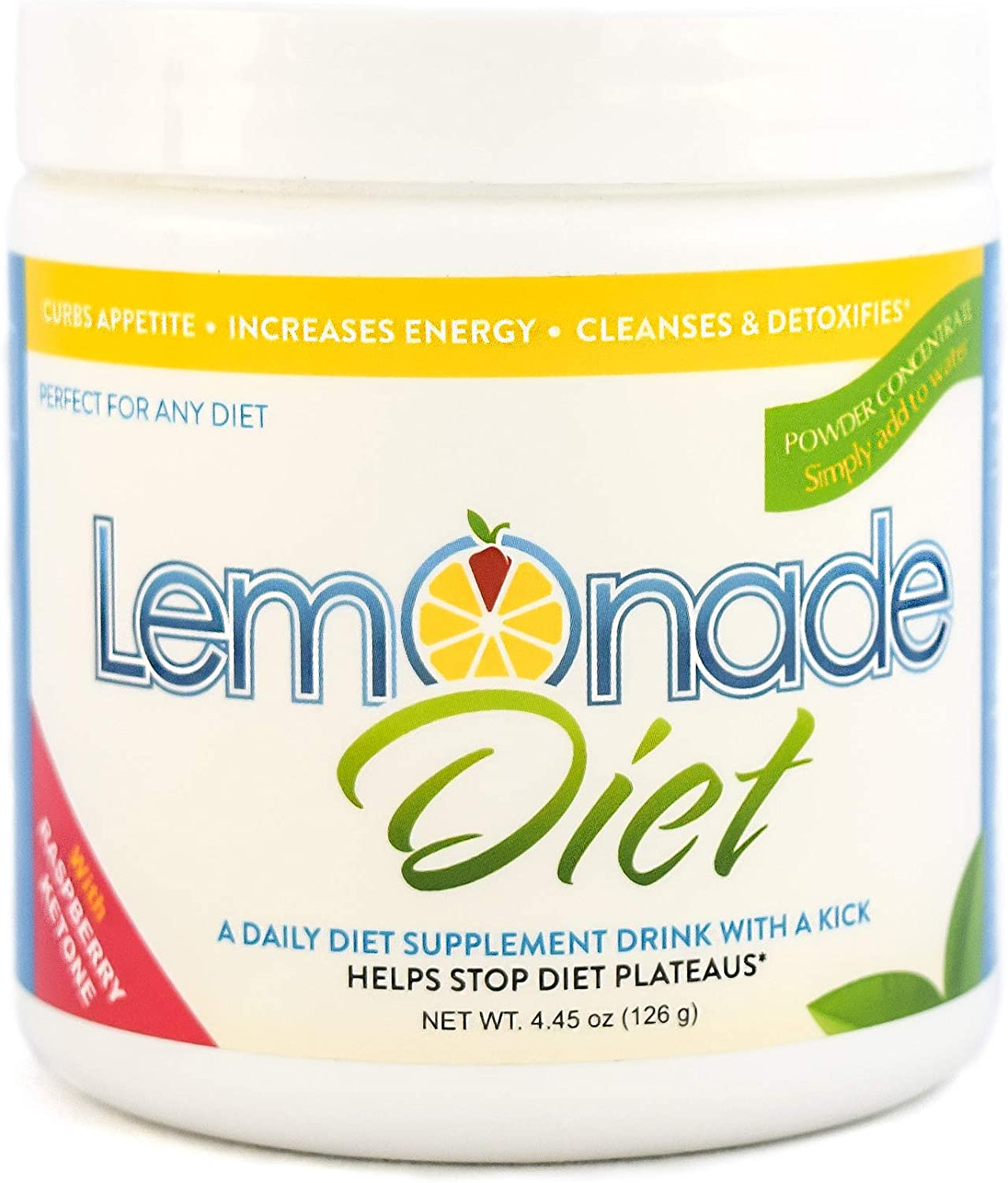 Amazon Com The Original Lemonade Diet Powder Master Cleanse Weight Loss System 100 All Natural Metabolism Boosting Raspberry Ketones Health Personal Care