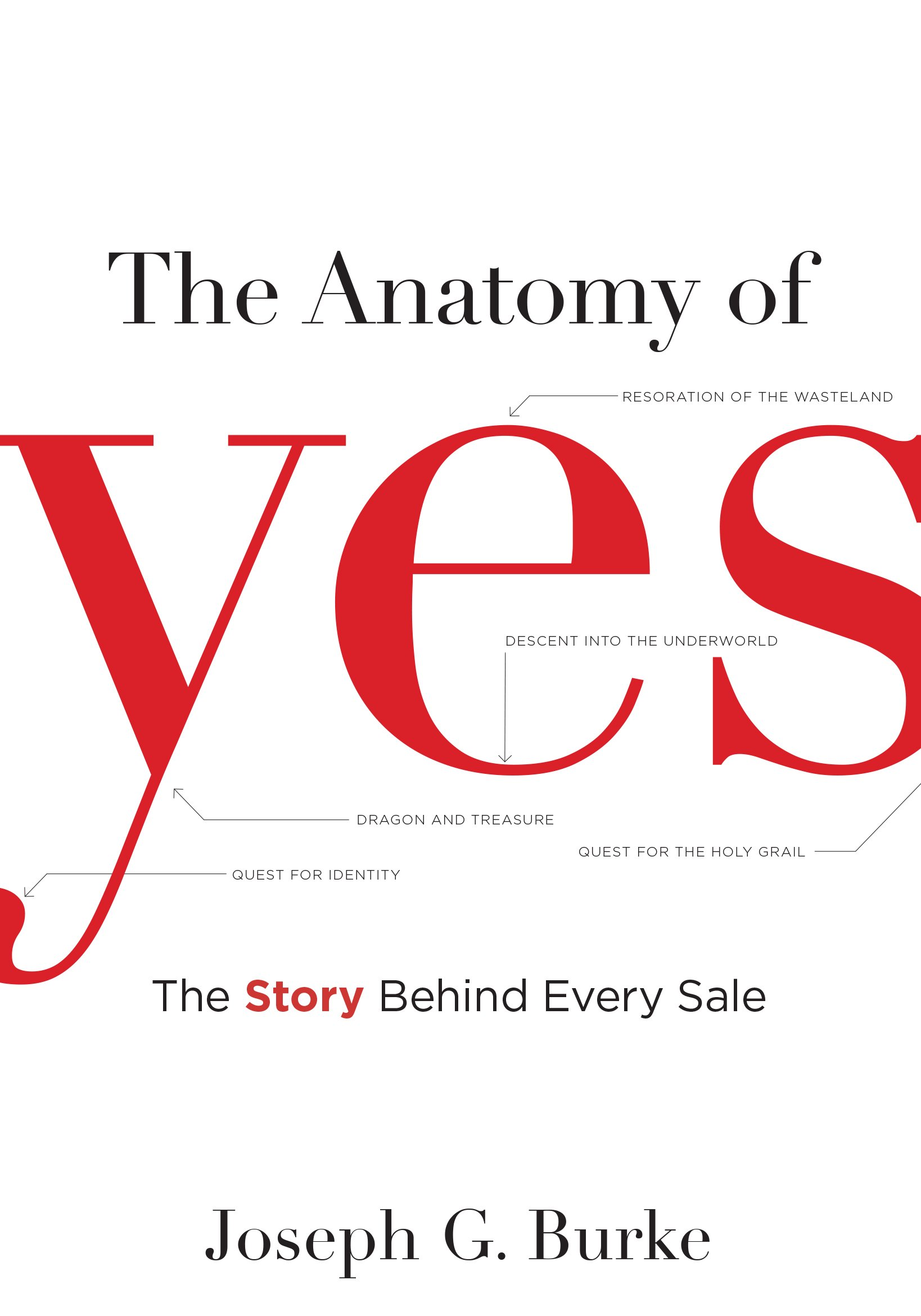 The Anatomy Of Yes The Story Behind Every Sale Joseph G Burke