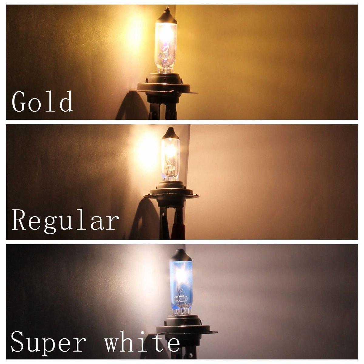 880 12V 27W Super White Halogen Xenon Filled Car Fog Light Lamp Package of 2