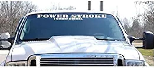 Smoke Loading Vinyl Decal Truck Diesel Powerstroke Duramax