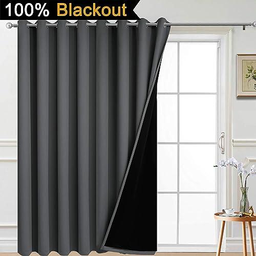 Yakamok Total Shade Patio Door Curtain