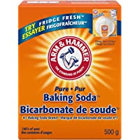 ARM & HAMMER Baking Soda, For Baking, Cleaning and Deodorizing, 500-g ( packaging may vary )