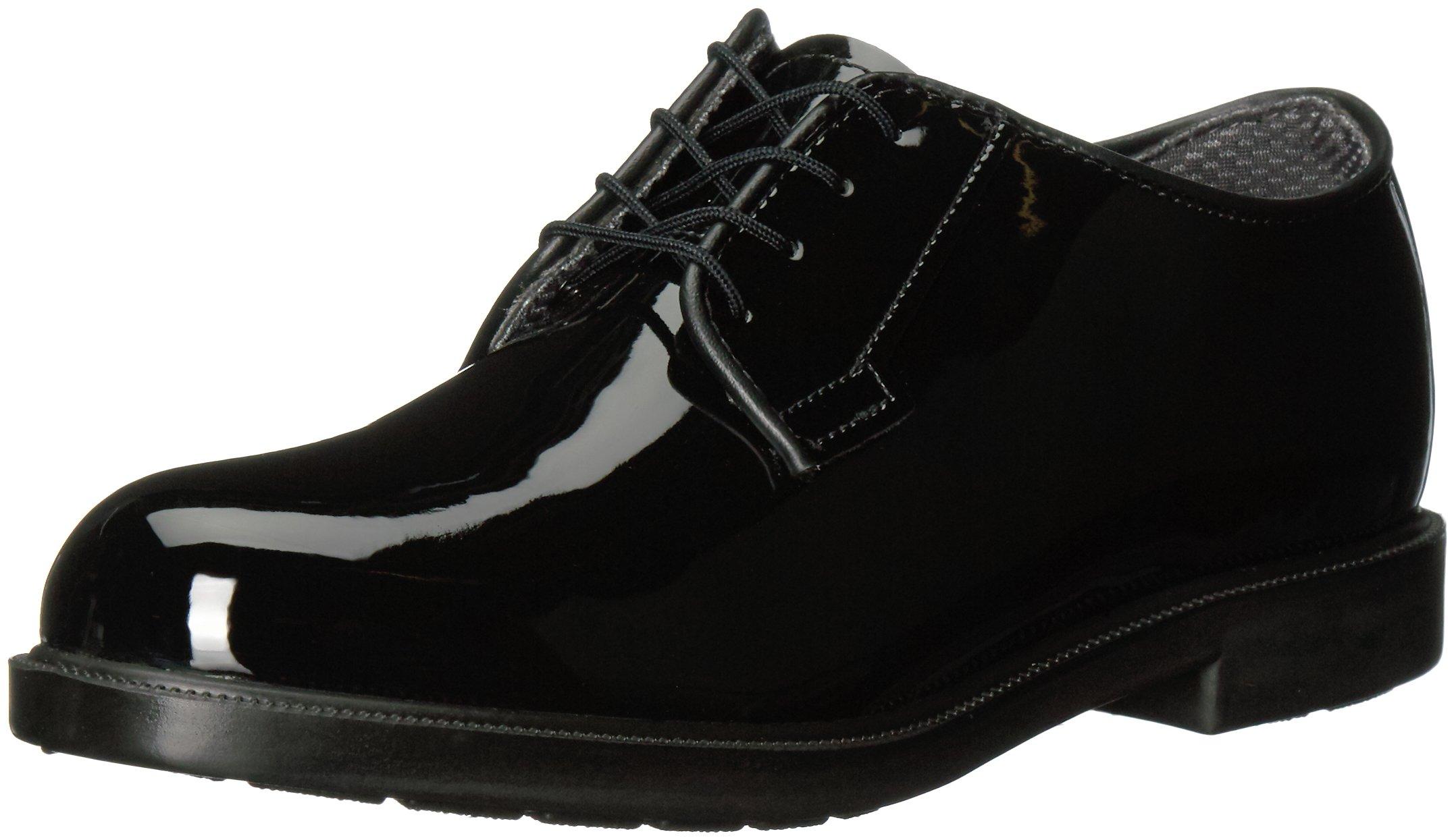 Bates Women's High Gloss Durashocks Shoe,Black,6 M US by Bates