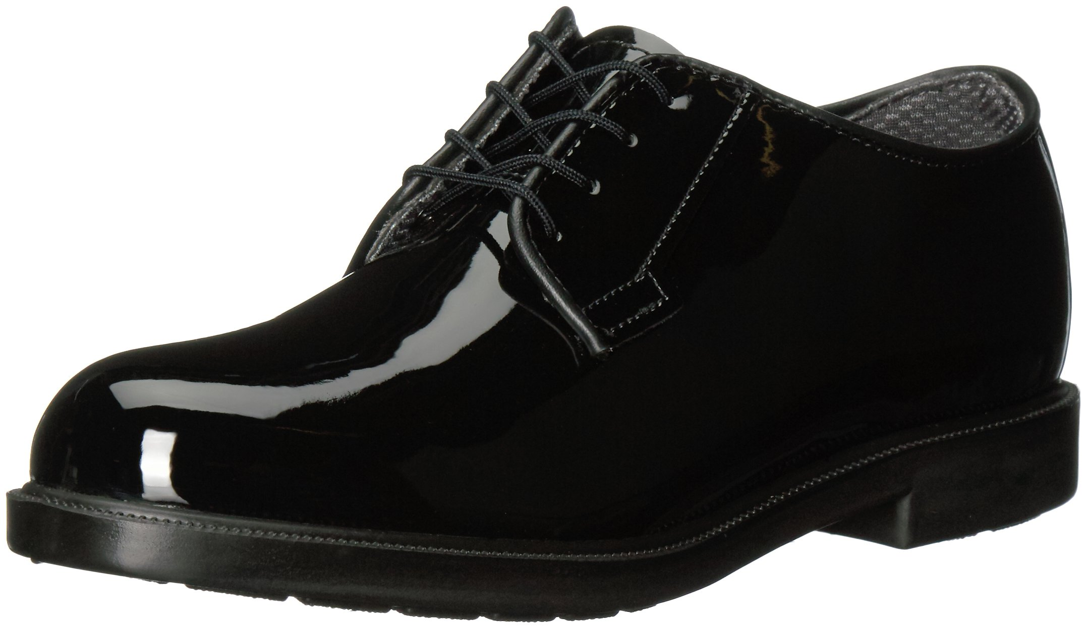 Bates Women's High Gloss Durashocks Shoe,Black,7 W US