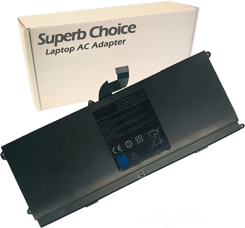 Superb Choice Battery Compatible with 14.8V 64WH Battery DELL XPS 15Z-L511x, XPS 15Z-L511z