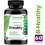 B Healthy - with L-5 Methyltetrahydrofolate (5-MTHF) Coenzymated Folic Acid - Helps Improve Energy, Lower Stress, Fatigue, Healthy Immune System - Emerald Laboratories - 60 Vegetable Capsules