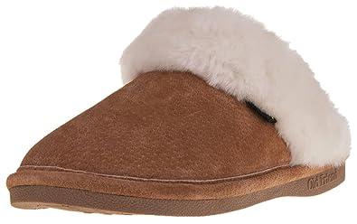 f173861b5 Amazon.com | Old Friend Women's 441169 Scuff Sheepskin Slipper ...