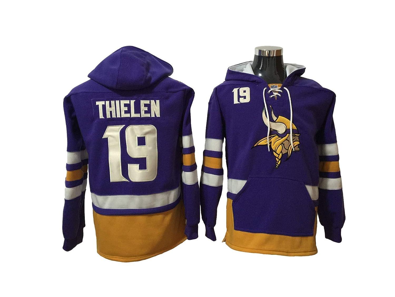 newest collection c0f00 f67d3 Thielen 19 Vikings Football Hoodie Men Onesie Sweatshirt Champion Tank top  Sweaters Pullover Jersey