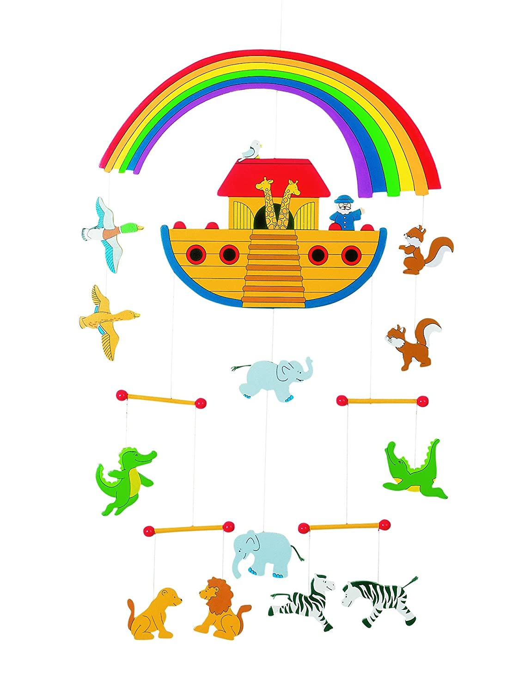 Goki 52987 - Mobile Arche Noah Non Books Non Books / Mobile Kinderzimmerdekoration