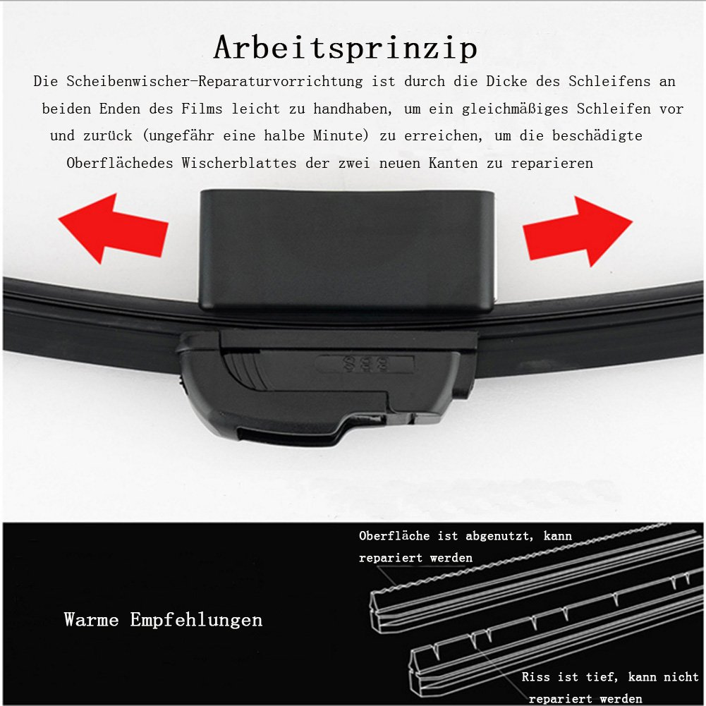 Auto Windschutzscheibe Wischblätter Reparieren Werkzeug, 2 Stück ...