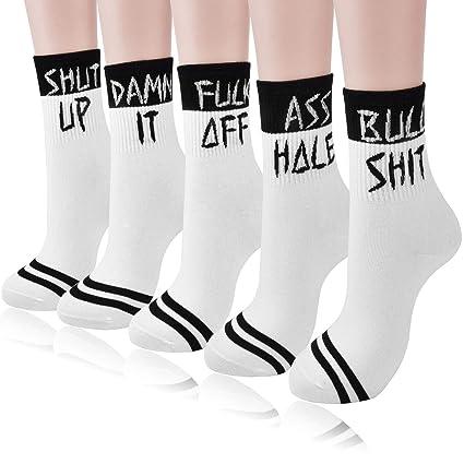 1 Pair Women Socks Cotton Letter Printed Style Ankle Socks Ladies Girls Socks