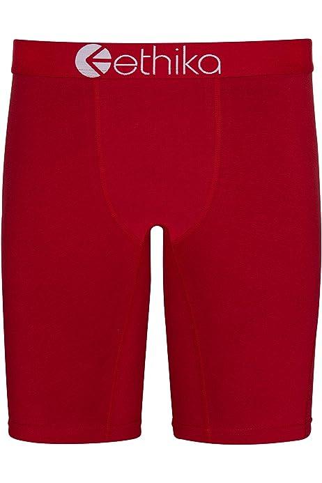 size S L XL Ethika Men The Staple Long Boxer Brief Underwear Gray