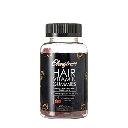 Elongtress gomoso pelo suplemento de la vitamina de la piel y el ...