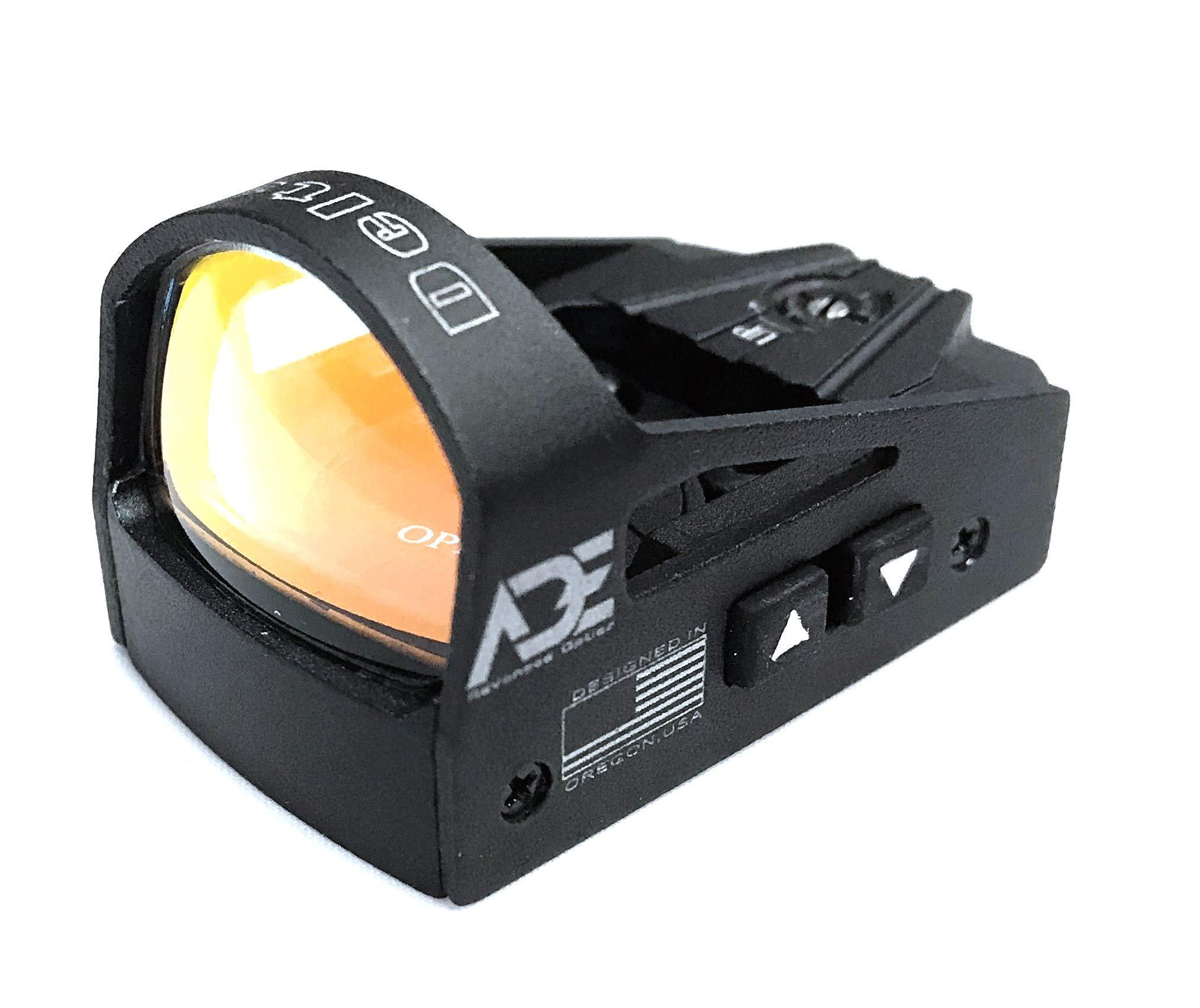 Ade RD3-012-G-GREEN Dot Reflex Sight for Springfield XDM XD-M OSP System Pistol Handgun by Ade Advanced Optics