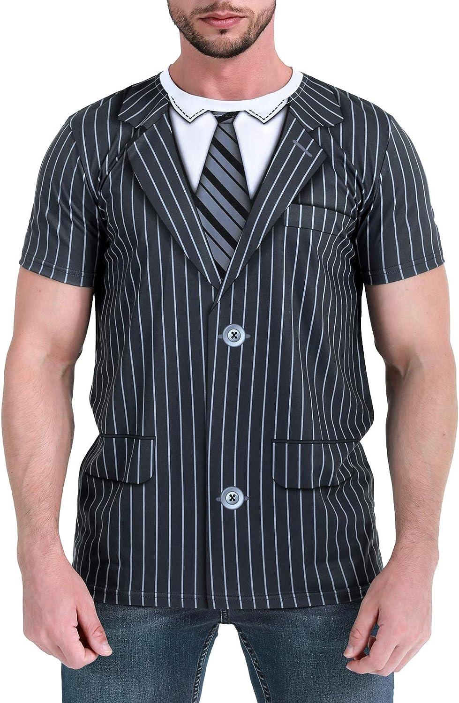 Funny World Tuxedo T-Shirts for Men