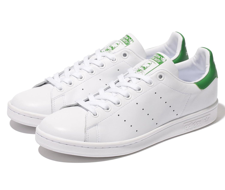 アディダス adidas スタンスミス ホワイト×グリーン M20324 B00XFVQPMS