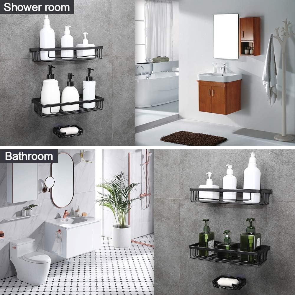 Quick Fix /étag/ère dangle Easy Grip jusqu/à 4/kg de salle de bain mural facile De Salle de Bain /étag/ère sans perforation