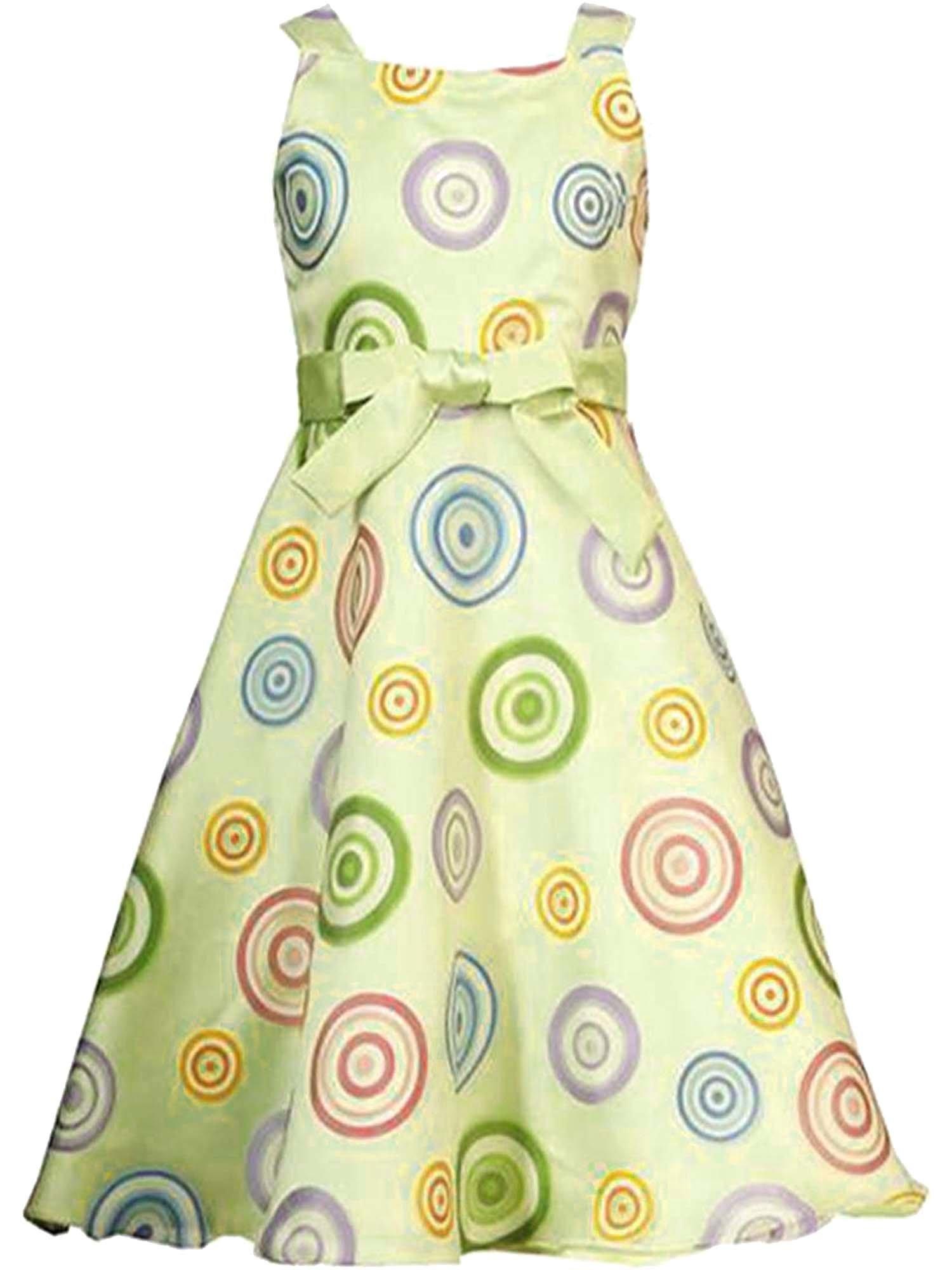 Rare Editions Tween Girl Plus-Size Honeydew-Green Swirl Burnout Overlay Social Dress, Honeydew, 10.5
