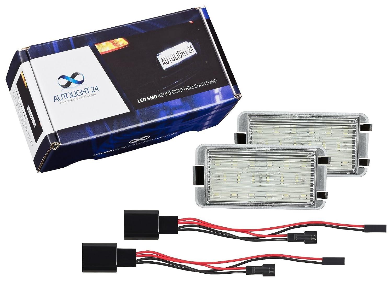 LED matrí cula iluminació n de matrí cula 601 AutoLight24