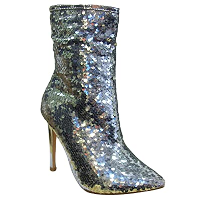 Women's Manafaru Glittery Ankle Boots
