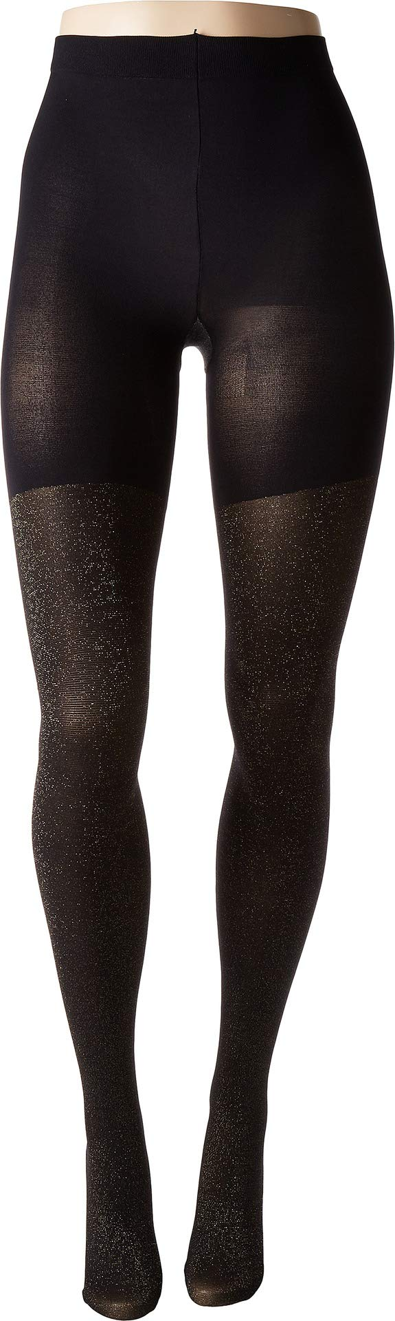 Spanx Women's Metallic Shimmer Mid-Thigh Shaping Tights Gold Shimmer G