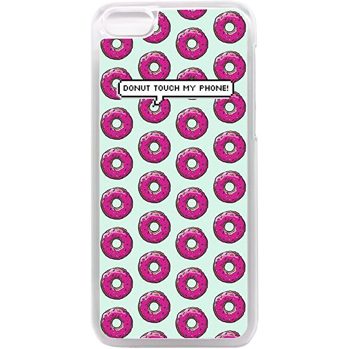 Case Chimp iPhone 5c Phone case Donut touch my phone pattern