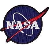 Ecusson brodé NASA Noir / Bleu