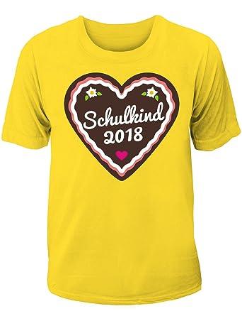 T Shirt Einschulung Schulanfang Für Mädchen Schulkind 2018 Mit