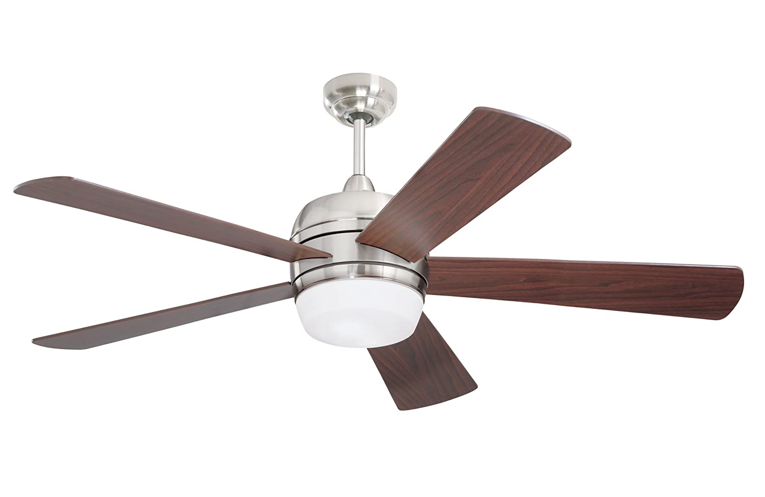 emerson ceiling fans cf930bs atomical 52 inch modern indoor ceiling fan with light and remote, brushed steel finish Hunter Fan Motor Wiring Diagram