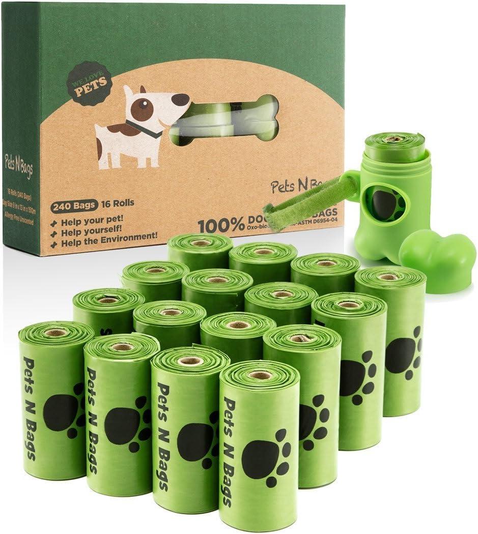 Pets N Bags Poop Bags, Environment Friendly Dog Waste Bags, Refill Rolls