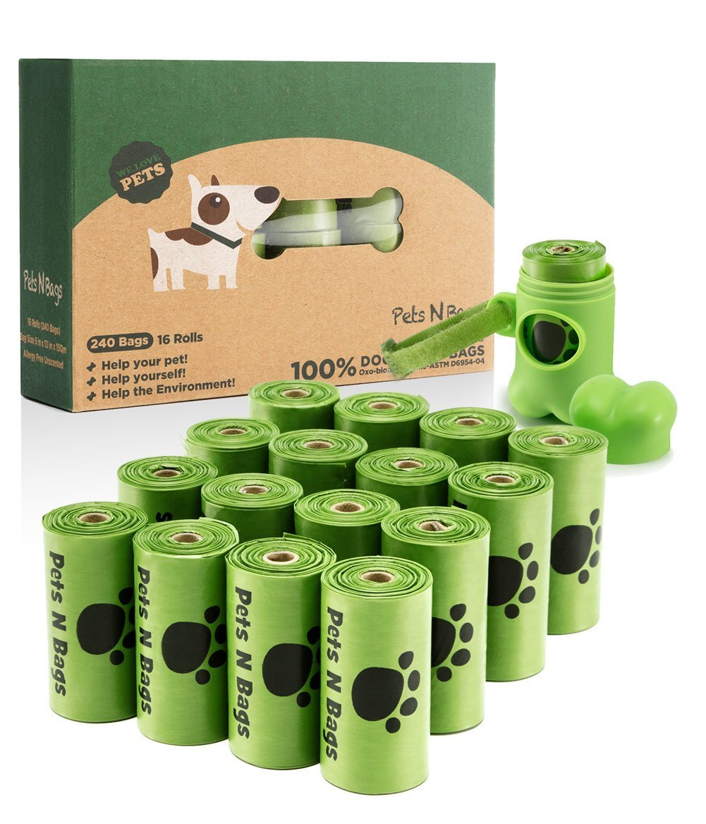Pets N Bags Poop Bags, Environment Friendly Dog Waste Bags, Refill Rolls product image