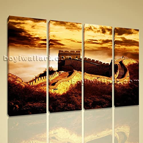 Amazon.com: HD Print Landmarks Picture Of The Great Wall China ...