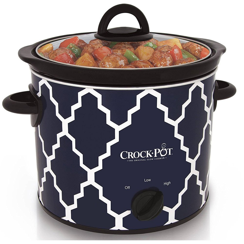 Crock-Pot 4-Quart Manual Slow Cooker SCR400-BLT-WM1