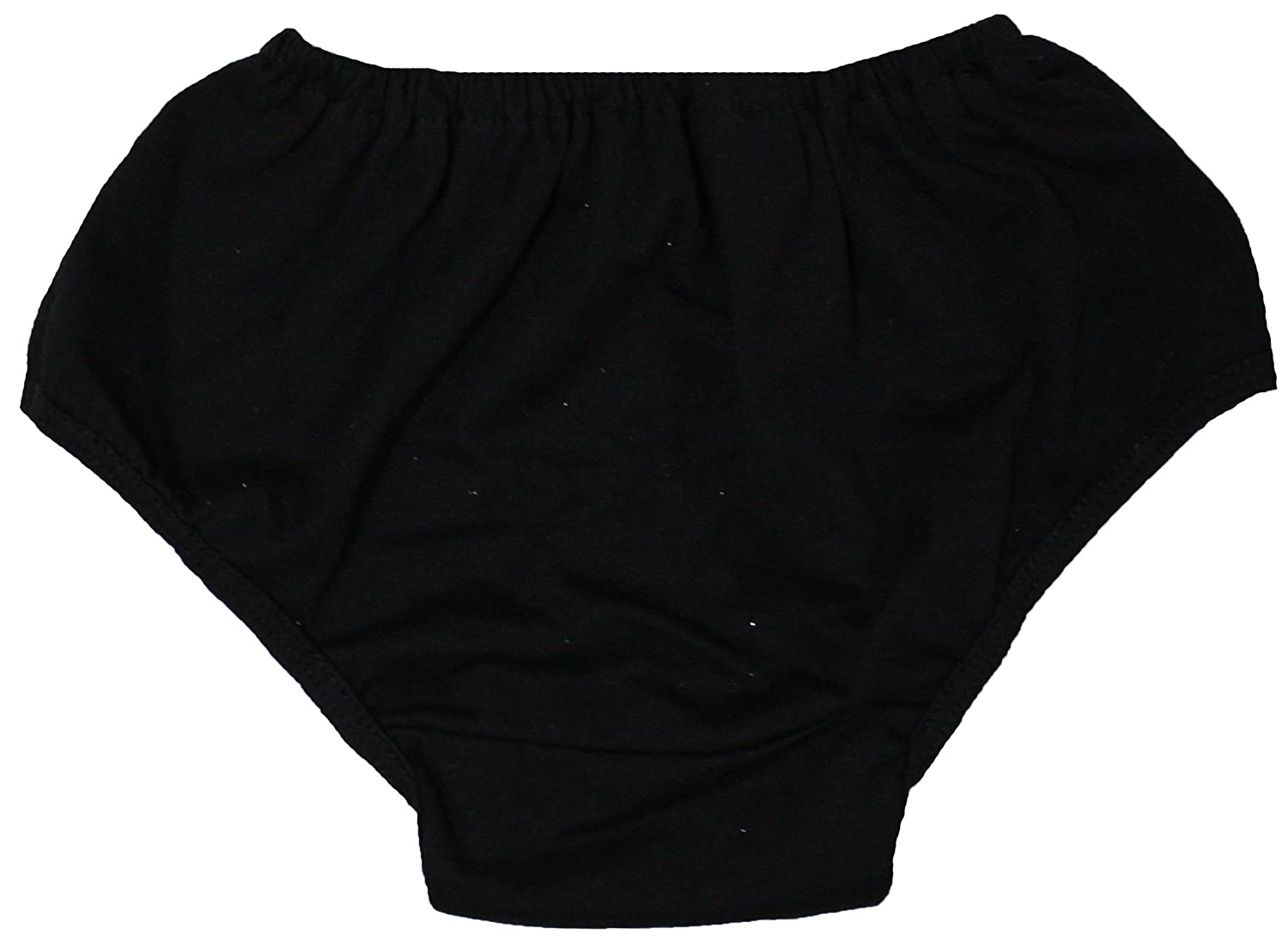 Petitebella Dress Plain Black Cotton Bloomer For Baby 6-24m NF00015