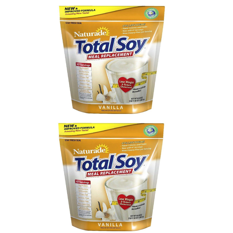 SCS Naturade Total Soy Vanilla NEW Formula - 3 lbs. x2 by Naturade