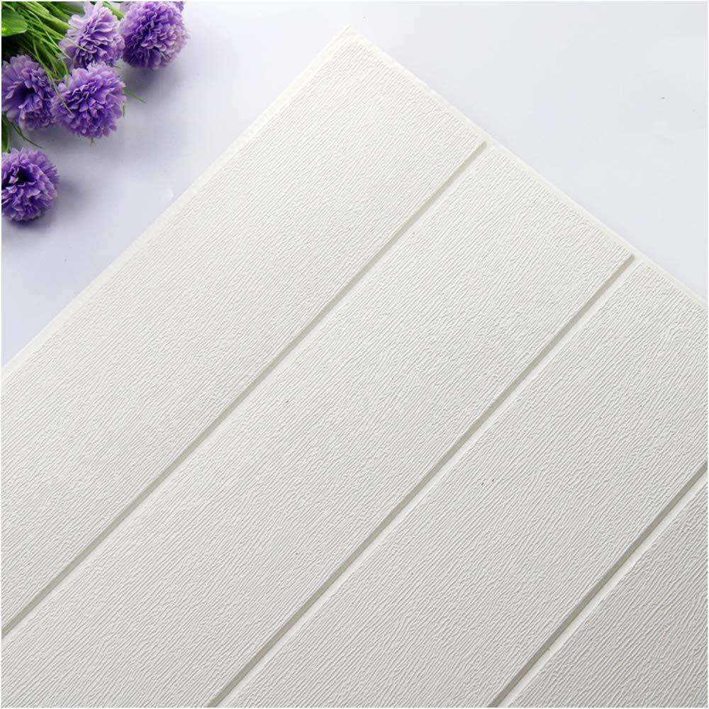 70*30CM 20Pcs 3D Brick Foam Self-Sticker Embossed Wall Paper DIY Home Decor Lot